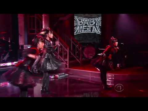 BABYMETAL - The Late Show - YouTube