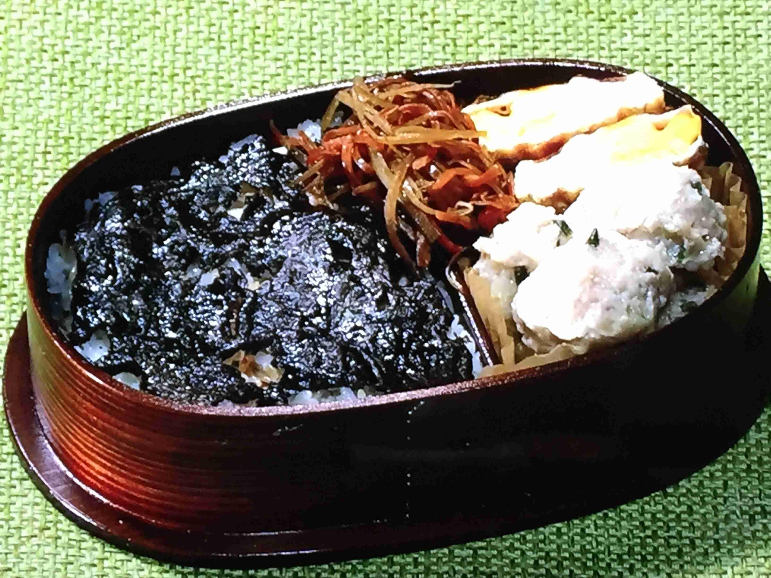 NHKきょうの料理は鶏つくねのり弁当・きんぴらごぼう・卵の折りたたみ焼きレシピ!飛田和緒のお弁当   きょうの料理 レシピ研究ブログ