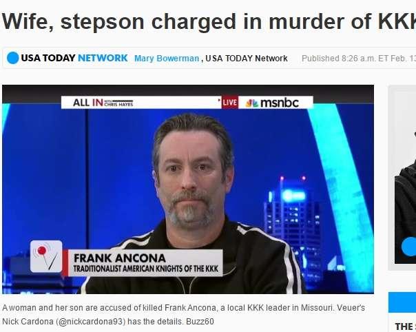 【海外発!Breaking News】白人至上主義の秘密結社「KKK」 最高指導者が妻とその連れ子に殺される!(米) | Techinsight|海外セレブ、国内エンタメのオンリーワンをお届けするニュースサイト