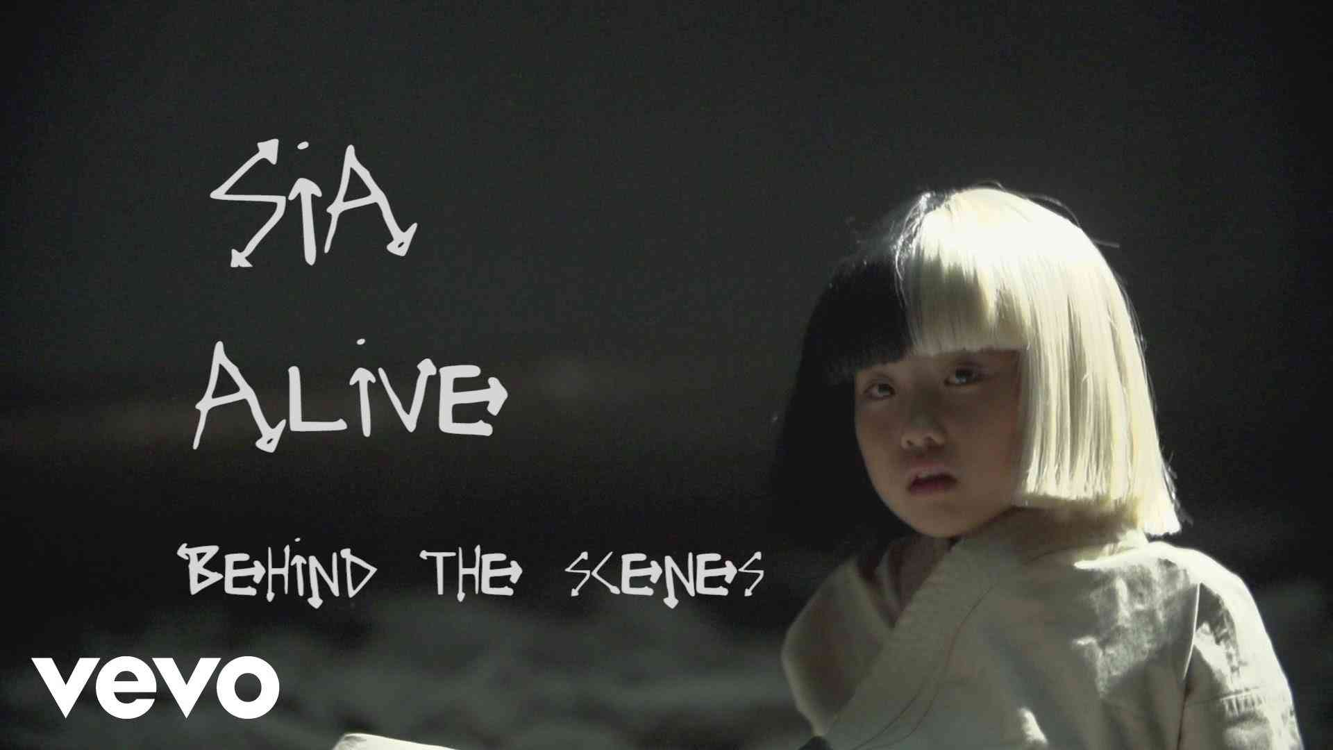 Sia - Alive (Behind the Scenes) - YouTube
