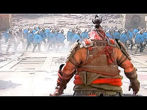 FOR HONOR ALL Heroes Class Gameplay Trailers (Samurai / Viking / Knight Factions) 2017 - YouTube