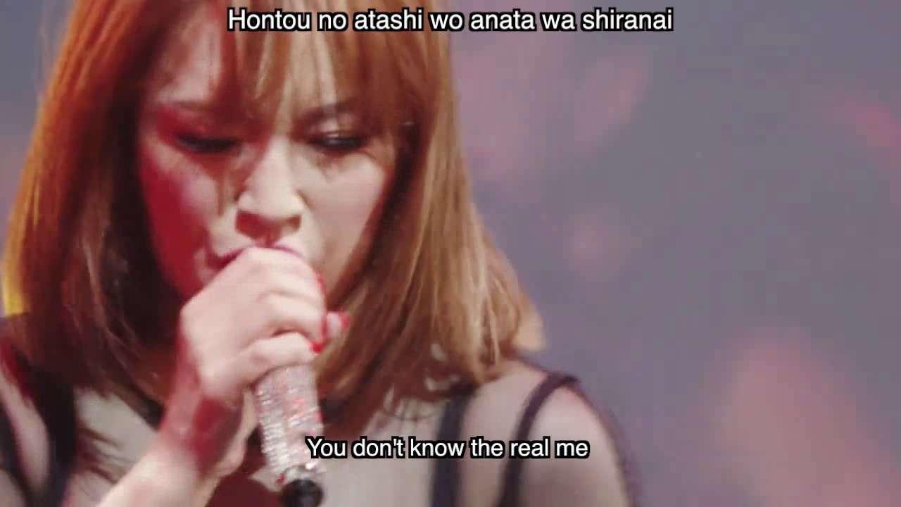 Ayumi Hamasaki 浜崎あゆみ - WARNING Roomaji English Lyrics M(a)de  in Japan (2016 Tour) - YouTube