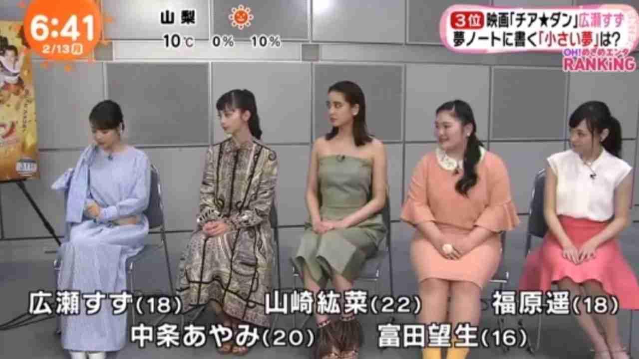 「チア★ダン」主演の広瀬すずにめざましインタビュー! - YouTube