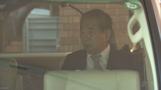 石原元知事 特別委前に記者会見開く考え改めて示す | NHKニュース