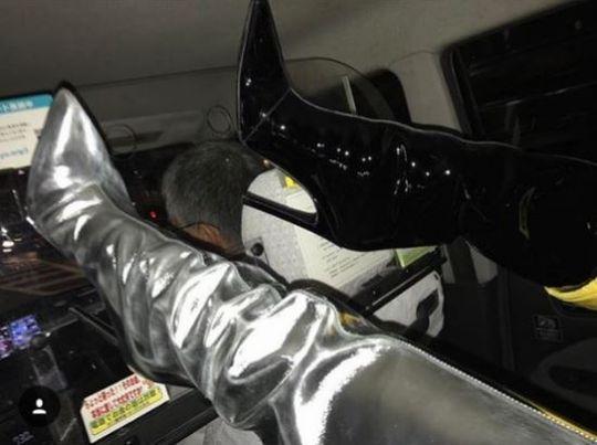 元2NE1のCL、日本のタクシー内での非常識行動に非難殺到! 写真を慌てて削除   韓流熱風-韓芸報