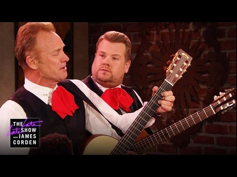 Battle of the Singing Waiters w/ Sting - YouTube