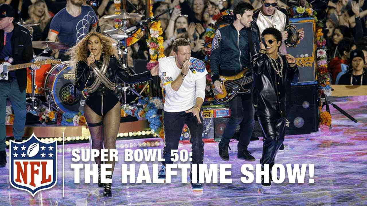 Coldplay's FULL Pepsi Super Bowl 50 Halftime Show feat. Beyoncé & Bruno Mars! | NFL - YouTube