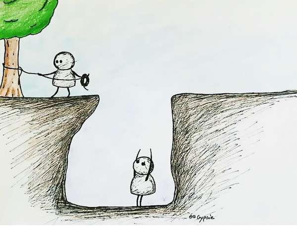 この絵の意味わかる?すごく考えさせられると海外で話題のイラスト | 不思議.net