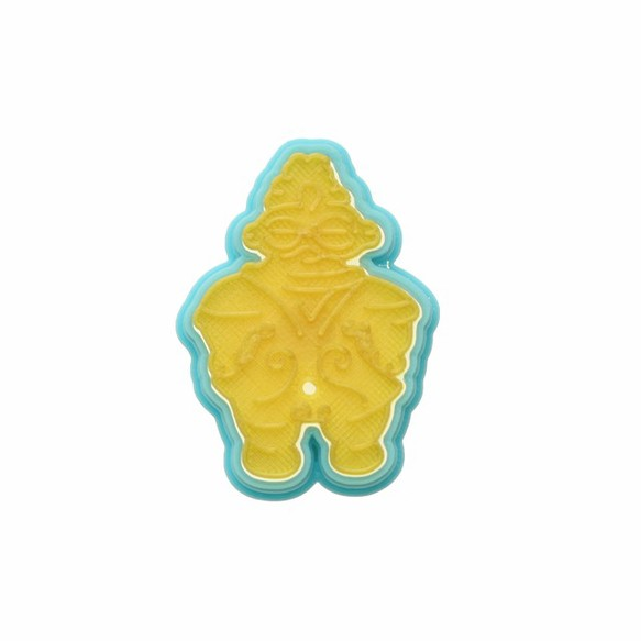 クッキー型:遮光器土偶|その他キッチン小物|sacsac|ハンドメイド通販・販売のCreema