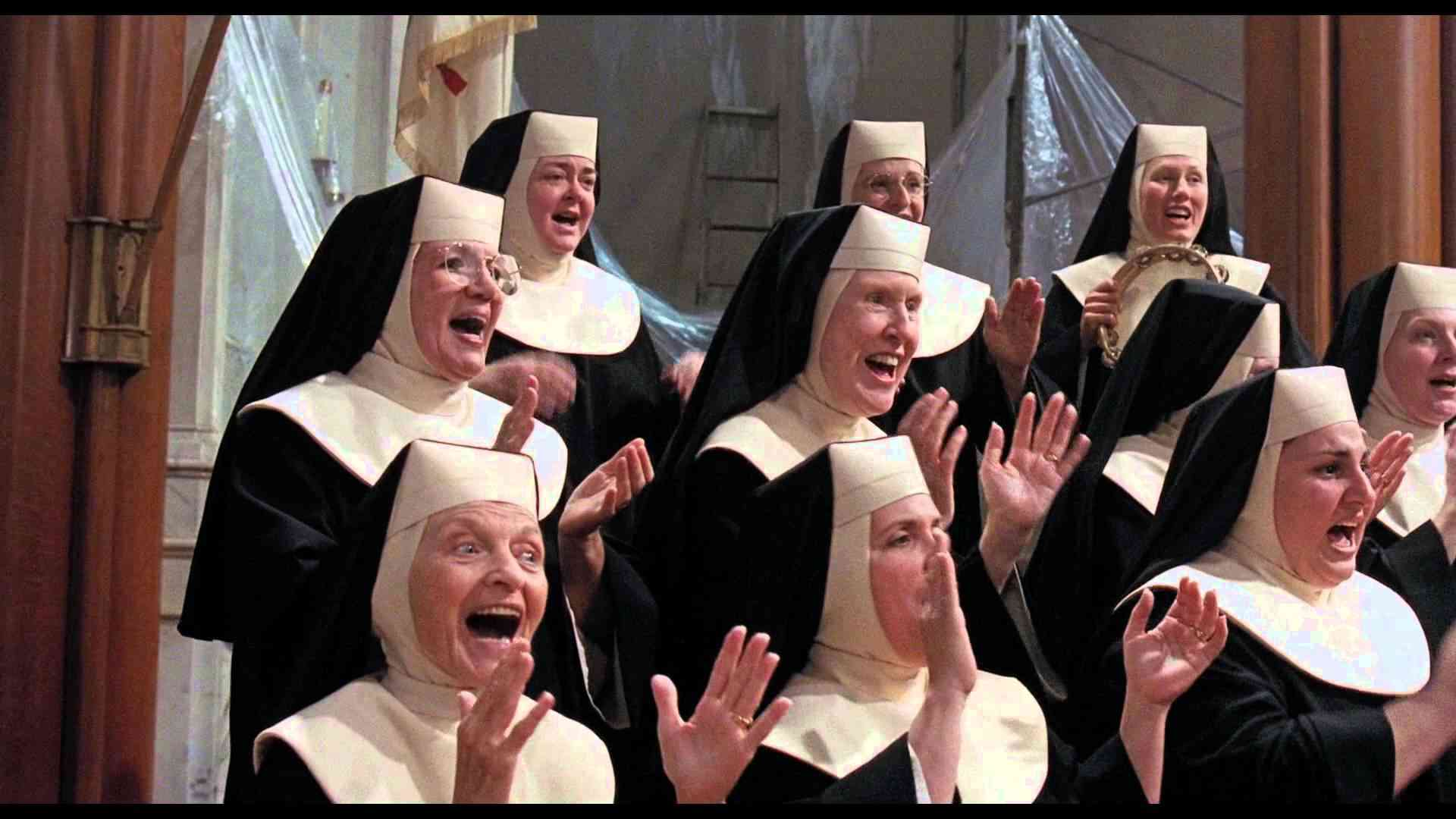 Sister Act  - Hail Holy Queen (Hi Def) - YouTube
