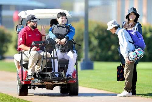 【日本ハム】大谷、右足首痛で野手でも実戦回避へ (スポーツ報知) - Yahoo!ニュース