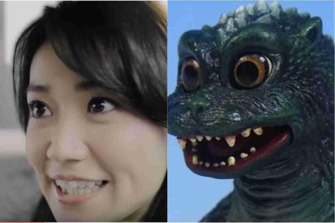 ゴリラ顔の人〜!