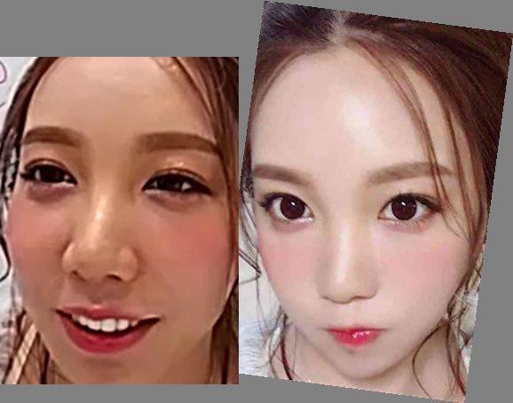 画像と動画で顔が違う人