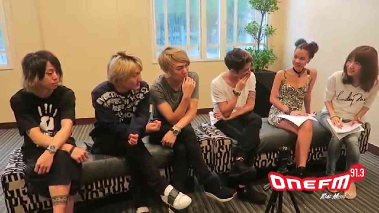 ONE OK ROCK Interview by OneFM 91.3 in Singapore  [Translated English / Japanese] - YouTube