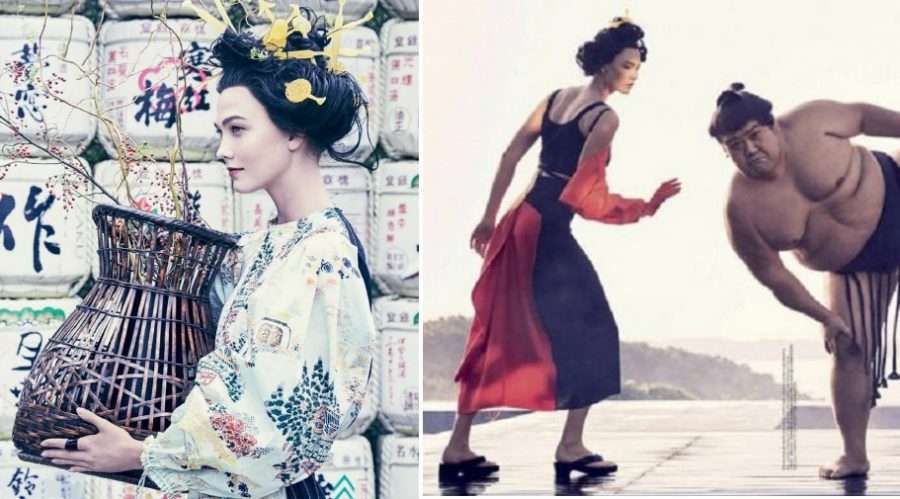 Vogue Pisses Off the Asian Community By Featuring a White Model in Yellowface