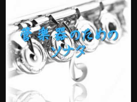 1996年度課題曲(Ⅰ) 管楽器のためのソナタ - YouTube