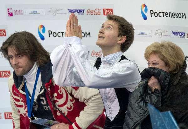 スケ速 : [ロシア選手権2013] 男子フリーが織田祭りに。コフトン初優勝!プルシェンコ2位【odaる】