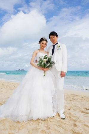 押切もえ&涌井秀章がハワイで挙式「笑顔の溢れる家庭に」 所属事務所が発表