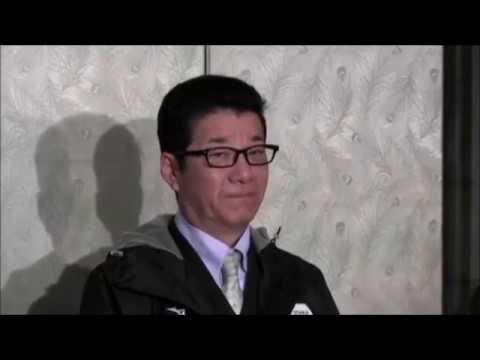 松井知事囲み会見 (2017.02.23) 堺市長選 清水元アナ擁立を否定「政治的オファーは一切しておりません」 - YouTube