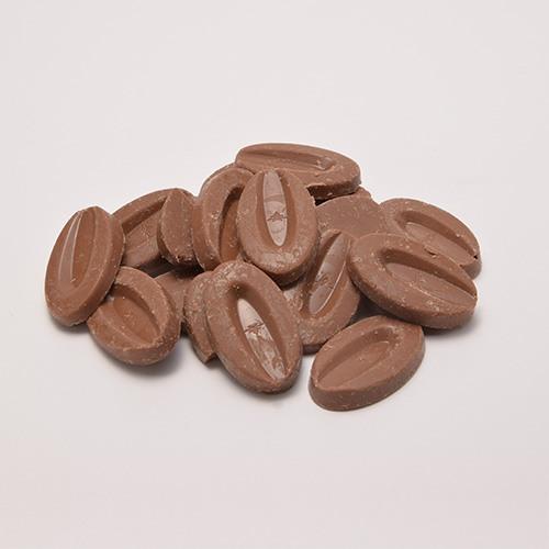 VALRHONA(ヴァローナ)ミルク アゼリア200g - ミルクチョコレート - 製菓用チョコレート - チョコレート・チョコレート素材 | cuoca[クオカ]:手作りお菓子とパンの専門店
