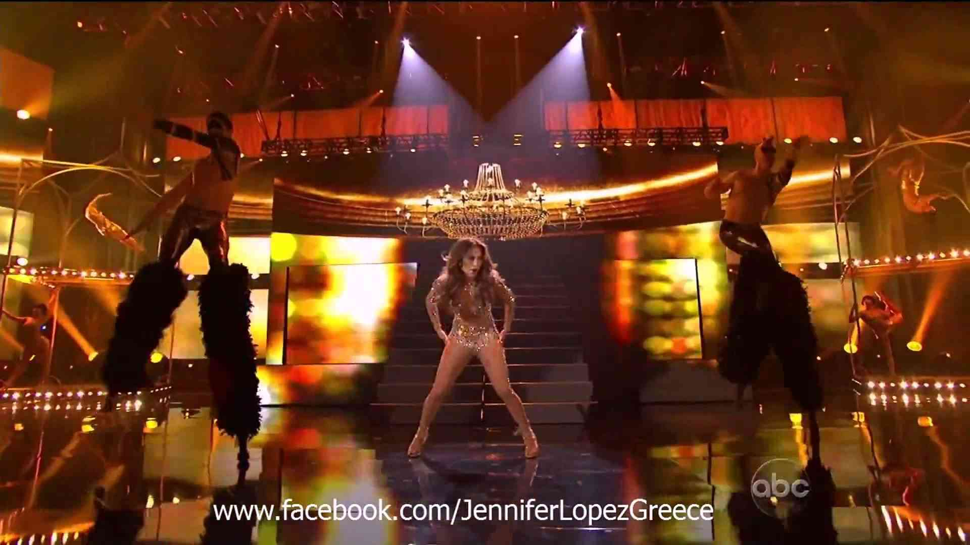 Jennifer Lopez - Papi & On The Floor (Live at American Music Awards 2011) (HD) - YouTube