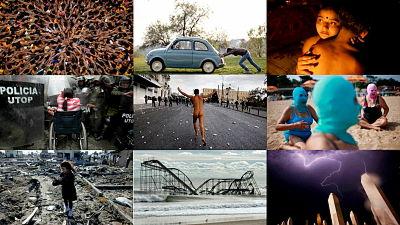 2012年の劇的瞬間を捉えた報道写真ベストショット95枚をロイターが公開 - GIGAZINE