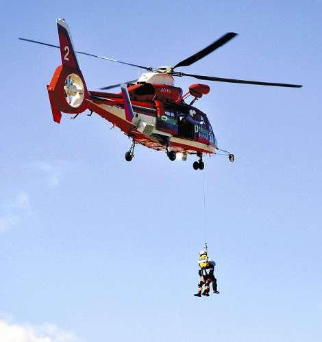ヘリ救助「5万円」、無謀な登山抑止へ…埼玉県