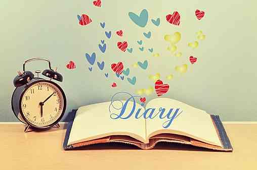 日記書いていますか?