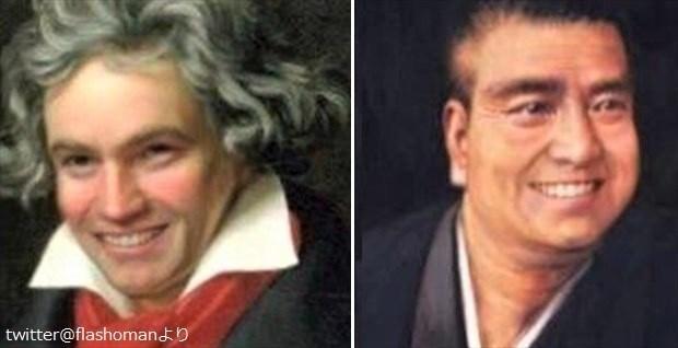 笑ってない偉人たちを、アプリで笑顔にしてみた→親近感がハンパない(笑) 8選 | BUZZmag