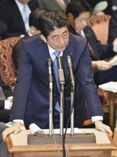 安倍晋三首相「天下り根絶に全力」=勤務間インターバル導入も―参院予算委