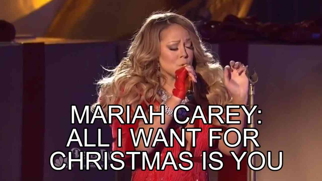 Mariah Carey Rockefeller Center 2014 'All I Want For Christmas Is You' Live Performance BEST VOCALS - YouTube