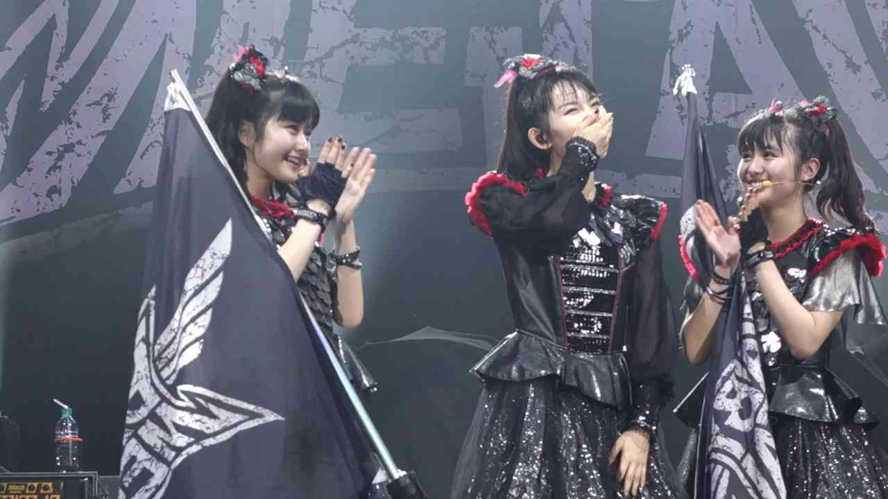 SU-METAL Birthday Party with Chad Metal at The O2 Arena - YouTube