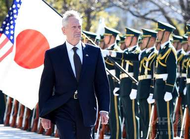 中国、マティス米国防長官の「尖閣は日米安保範囲」に警告 写真1枚 国際ニュース:AFPBB News