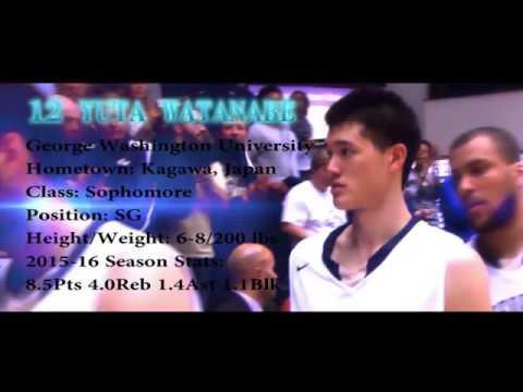 【日本最強の怪物】天才バスケプレイヤー渡邊雄太がヤバすぎる! NBAを目指す日本人!! - YouTube
