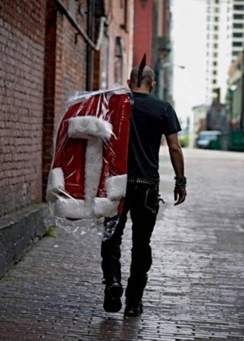 サンタクロースって今なにしてると思いますか?