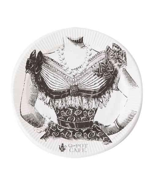 おしゃれな紙皿(使い捨て食器)の画像を貼るトピ