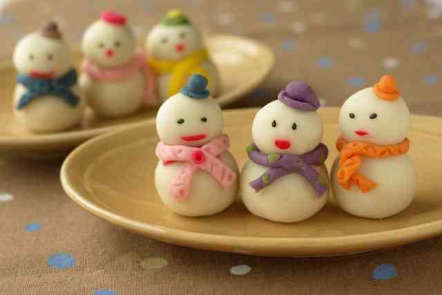 かわいい和菓子