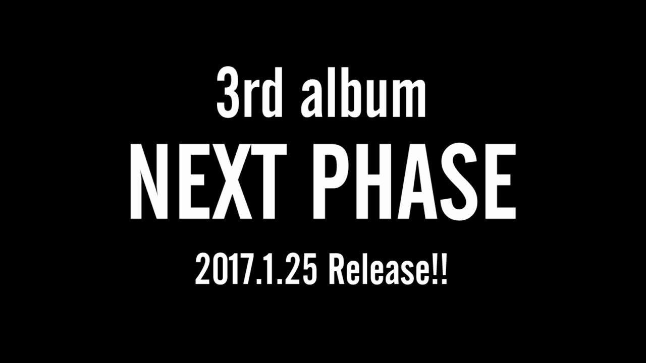 Da-iCE(ダイス) 3rd album「NEXT PHASE」Teaser映像 (2017.1.25 Release!!) - YouTube