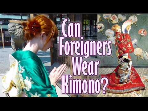 Can Foreigners wear Kimono? ボストン美術館・着物イベントに批判で中止? - YouTube