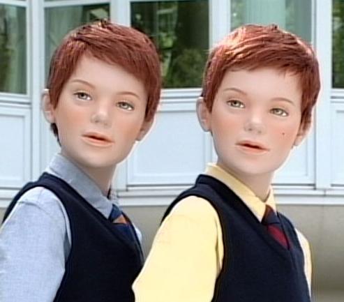 パッと思い付いた双子のキャラクターは?