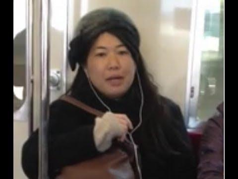 【池沼】キチガイババアが電車で発狂【そりゃ殺意持たれるわ】 - YouTube