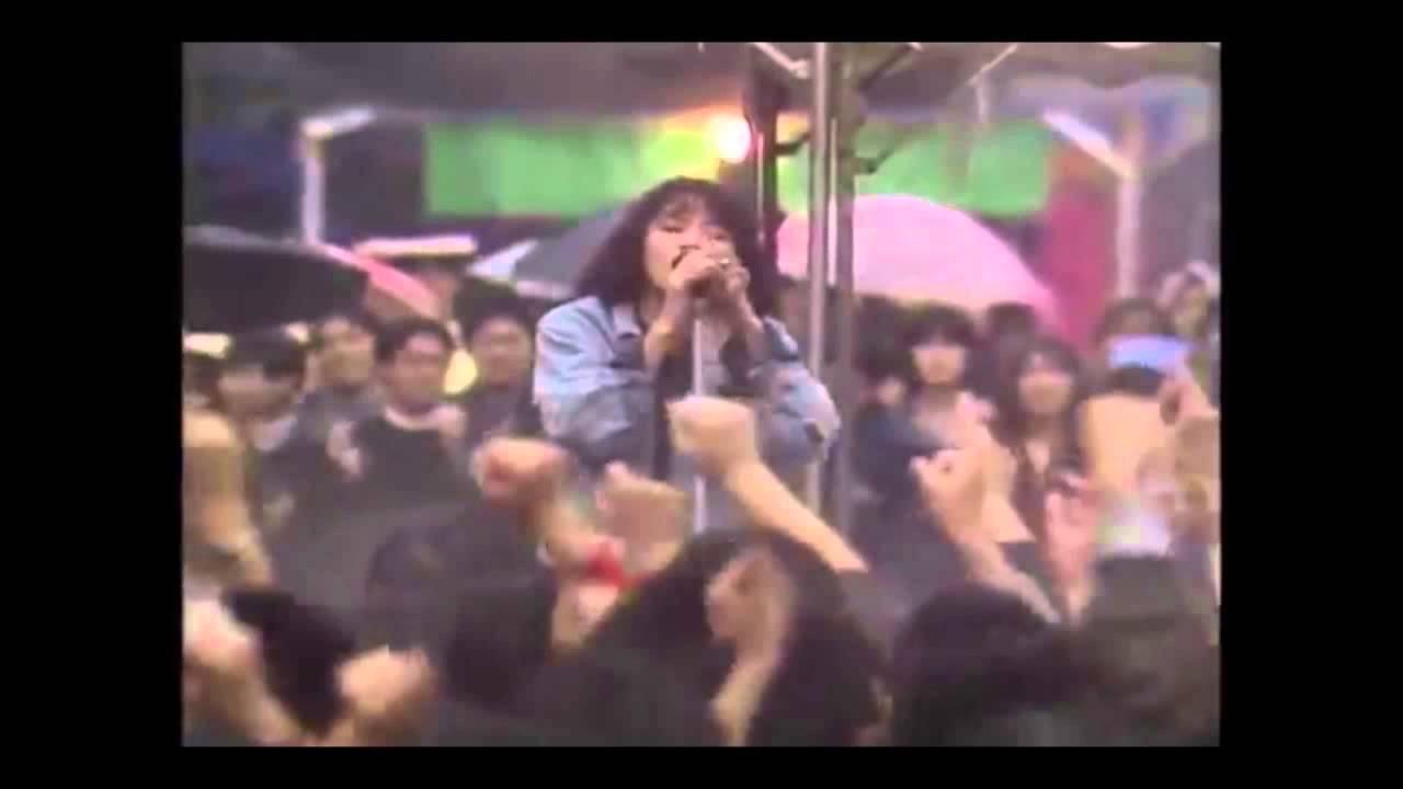 【レア】レベッカ 「日清パワーステーション」 1986年11月1日、in 早稲田祭の完全版 - YouTube