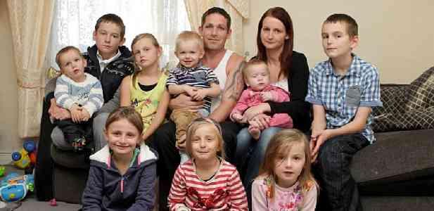 生活保護大国イギリス!9人の子を持つ母親、年間646万円の生活保護を受給中。 | お金の学校