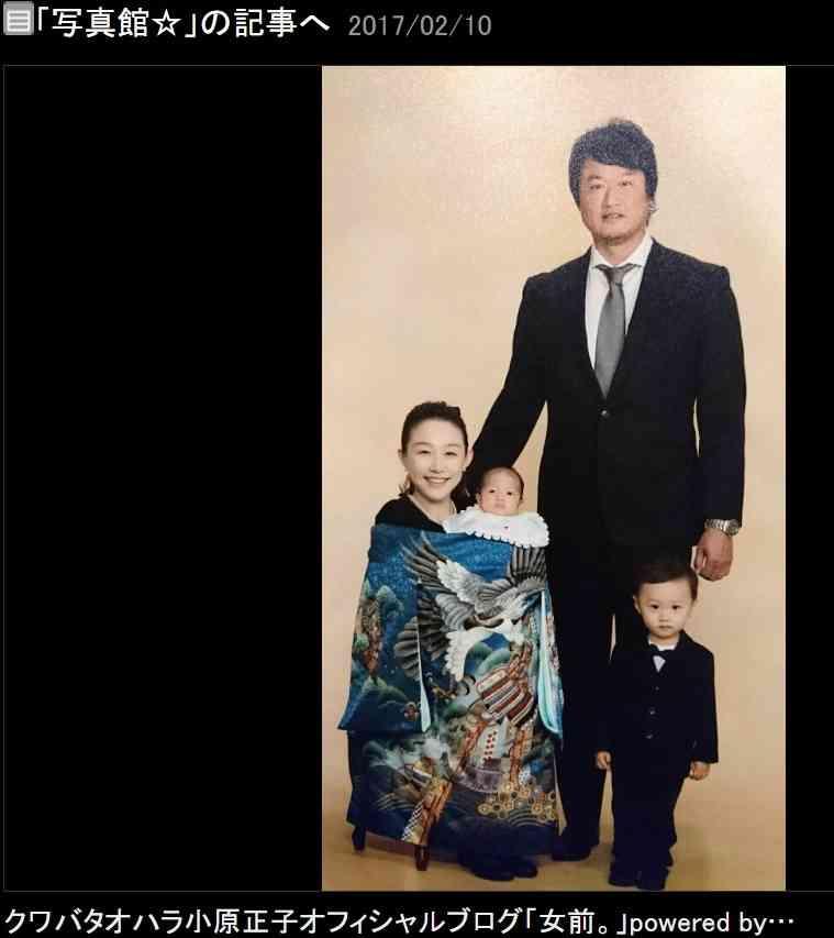【エンタがビタミン♪】クワオハ小原正子、幸せいっぱいの家族写真を公開 長男の成長ぶりに涙も   Techinsight 海外セレブ、国内エンタメのオンリーワンをお届けするニュースサイト