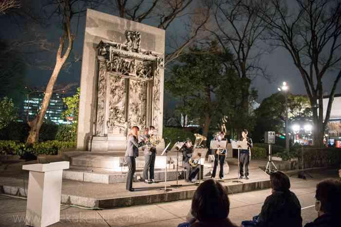 プレミアムフライデー 安倍総理も鑑賞、西洋美術館でミニコンサート 上野フライデーナイトミュージアム - お出かけいく