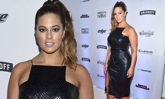 Ashley Graham celebrates Sports Illustrated Swimsuit Issue | Daily Mail Online