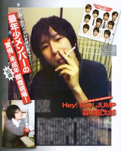元Hey!Say!JUMP森本龍太郎 ジャニーズ時代の苦悩を激白「何度か自殺を考えました」