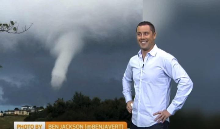 天気予報図に仰天!男性のアノ形にしか見えず「強烈な嵐のようだ」の声も(豪)