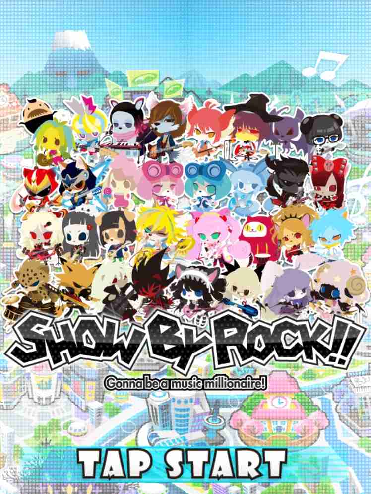 SHOW BY ROCK!!が好きな人♪