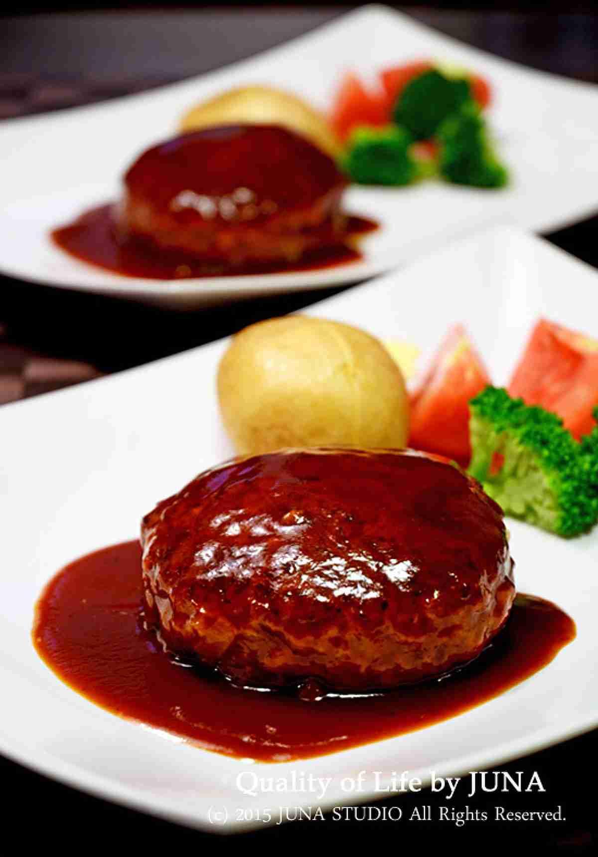 ツルピカふわふわハンバーグ by JUNA(神田智美) | レシピサイト「Nadia | ナディア」プロの料理を無料で検索